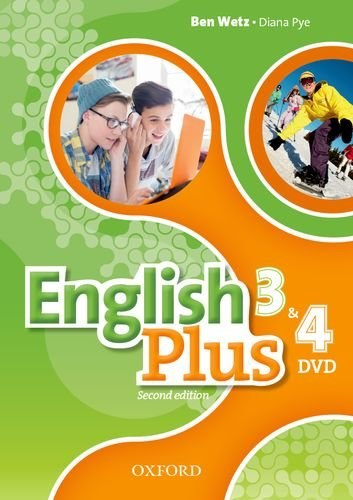 English Plus 3 and 4 (2nd Edition) DVD / DVD диск