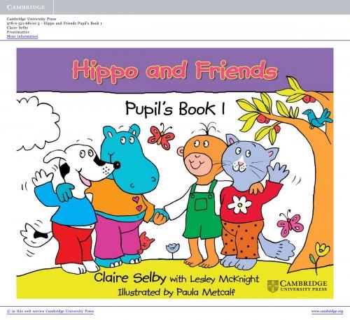 Hippo and Friends Starter Pupil's Book / Підручник для учня