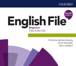 English File (4th Edition) Beginner Class Audio CDs / Аудіо диск