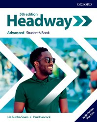 Headway (5th Edition) Advanced Student's Book with Online Practice / Підручник для учня