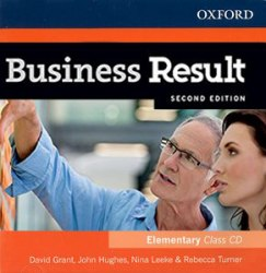 Business Result (2nd Edition) Elementary Class Audio CD / Аудіо диск