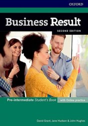 Business Result (2nd Edition) Pre-Intermediate Student's Book with Online Practice / Підручник для учня