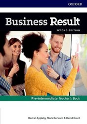 Business Result (2nd Edition) Pre-Intermediate Teacher's Book and DVD / Підручник для вчителя