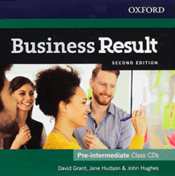 Business Result (2nd Edition) Pre-Intermediate Class Audio CD / Аудіо диск