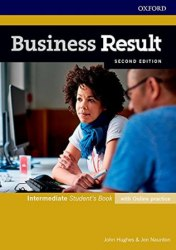 Business Result (2nd Edition) Intermediate Student's Book with Online Practice / Підручник для учня