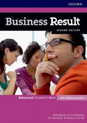 Business Result (2nd Edition) Advanced Student's Book with Online Practice / Підручник для учня