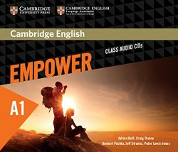 Cambridge English Empower Starter Class Audio CDs / Аудіо диск