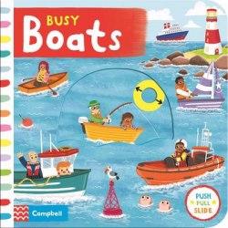 Busy Boats / Книга з рухаючими елементами