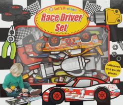 Let's Pretend: Race Driver Set / Книга-гра