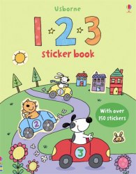 First Sticker Book: 123 / Книга з наклейками