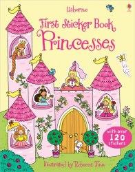 First Sticker Book: Princesses / Книга з наклейками