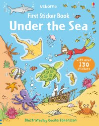 First Sticker Book: Under the Sea / Книга з наклейками