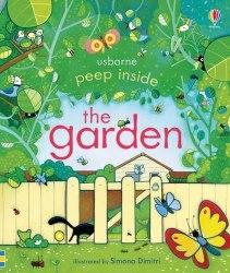 Peep Inside: the Garden - Anna Milbourne / Книга з віконцями