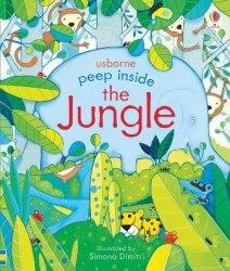 Peep Inside the Jungle - Anna Milbourne / Книга з віконцями