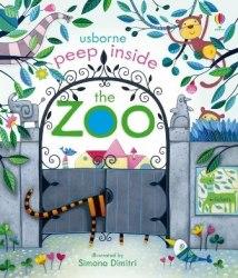 Peep Inside the Zoo - Anna Milbourne / Книга з віконцями