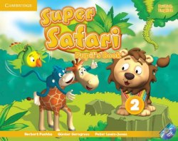 Super Safari 2 Pupil's Book with DVD-ROM / Підручник для учня
