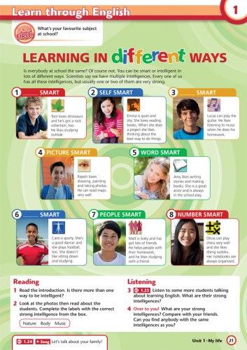 Project Explore 1 Student's Book / Підручник для учня