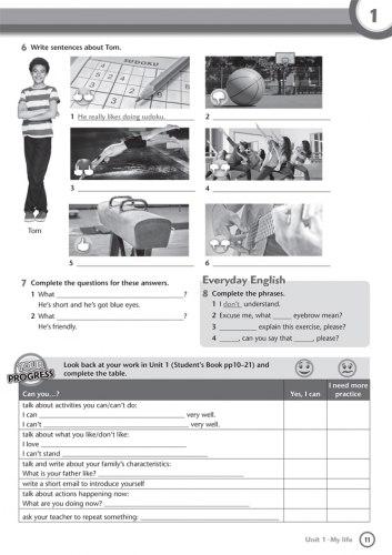 Project Explore 1 Workbook with Online Practice / Робочий зошит