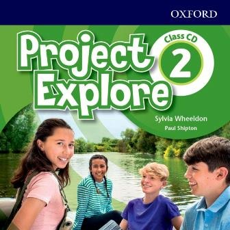 Project Explore 2 Class CD / Аудіо диск