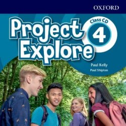Project Explore 4 Class CD / Аудіо диск