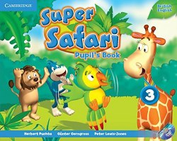 Super Safari 3 Pupil's Book with DVD-ROM / Підручник для учня