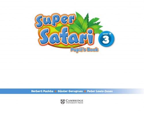 Super Safari 3 Pupil's Book with DVD-ROM / Підручник для учня