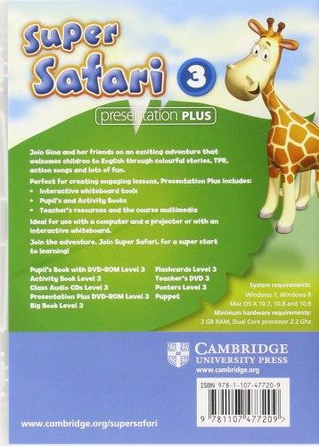 Super Safari 3 Presentation Plus DVD-ROM / Ресурси для інтерактивної дошки