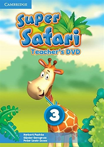 Super Safari 3 Teacher's DVD / DVD диск