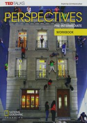 TED Talks: Perspectives Pre-Intermediate Workbook with Audio CD / Робочий зошит