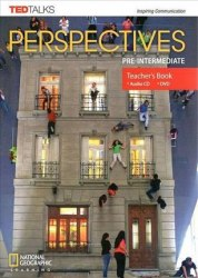 TED Talks: Perspectives Pre-Intermediate Teacher's Book with Audio CD + DVD / Підручник для вчителя