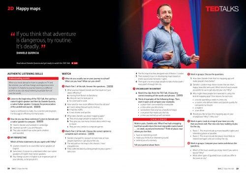 TED Talks: Perspectives Intermediate Student Book / Підручник для учня