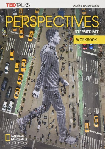 TED Talks: Perspectives Intermediate Workbook with Audio CD / Робочий зошит