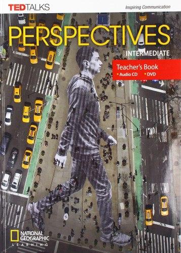TED Talks: Perspectives Intermediate Teacher's Book with Audio CD + DVD / Підручник для вчителя