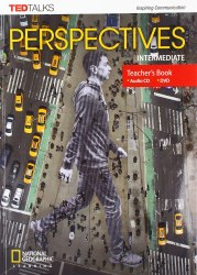 TED Talks: Perspectives Intermediate Teacher's Book with Audio CD + DVD / Підручник для вчителя