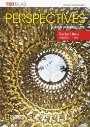 TED Talks: Perspectives Upper-Intermediate Teacher's Book with Audio CD + DVD / Підручник для вчителя