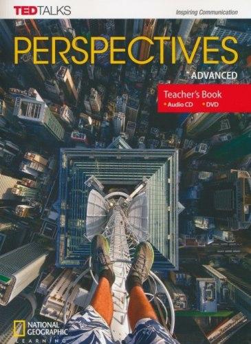 TED Talks: Perspectives Advanced Teacher's Book with Audio CD + DVD / Підручник для вчителя