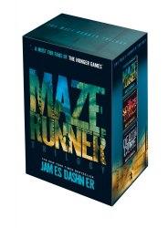 The Maze Runner Trilogy Boxed Set - James Dashner / Набір книг