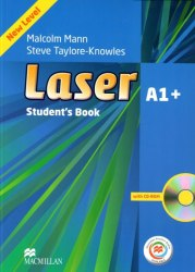Laser A1+ (3rd Edition) Student's Book with CD-Rom with Macmillan Practice Online / Підручник для учня