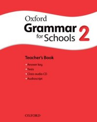 Oxford Grammar for Schools 2 Teacher's Book with Audio CD / Підручник для вчителя
