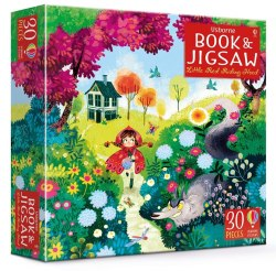 Little Red Riding Hood picture book and jigsaw / Книга з пазлом