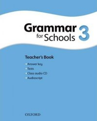 Oxford Grammar for Schools 3 Teacher's Book with Audio CD / Підручник для вчителя