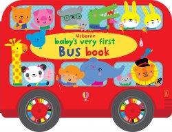 Baby's Very First Bus Book - Fiona Watt / Книга-іграшка