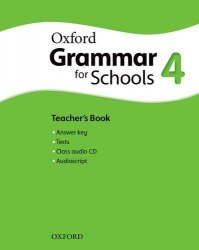 Oxford Grammar for Schools 4 Teacher's Book with Audio CD / Підручник для вчителя