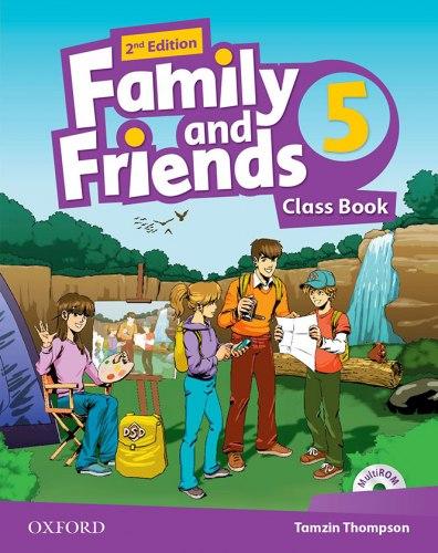 Family and Friends 5 (2nd edition) Class Book/Multi-ROM / Підручник для учня