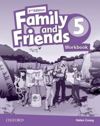 Family and Friends 5 (2nd edition) Workbook / Робочий зошит