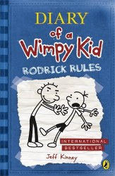 Diary of a Wimpy Kid: Rodrick Rules (Book 2) - Jeff Kinney