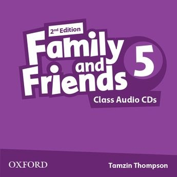 Family and Friends 5 (2nd Edition) Class CDs / Аудіо диск