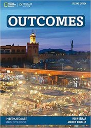 Outcomes (2nd Edition) Intermediate Student's Book + Class DVD / Підручник для учня
