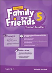 Family and Friends 5 (2nd Edition) Teacher's Book Plus / Підручник для вчителя