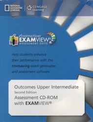 Outcomes (2nd Edition) Upper-Intermediate Examview CD-ROM / Диск з тестами
